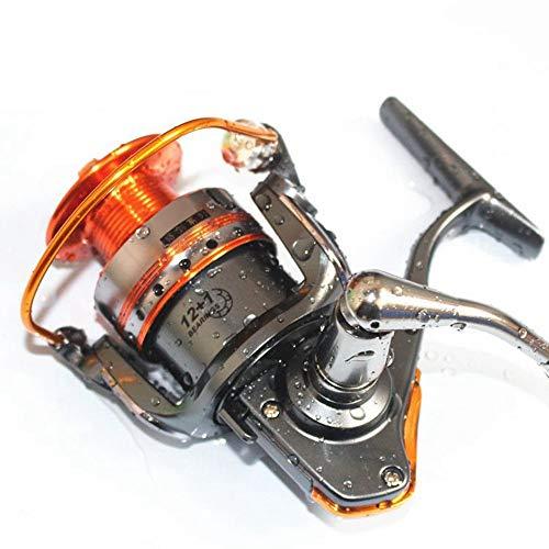 WYZSZMF Full Metal Spinnrad Fischereifahrzeug Meeresrolle Zahnradstange (Size : DL3000)