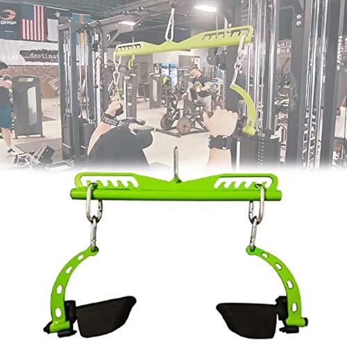 HNWTKJ V Form Pull-Down Rudergriff, Griffe für Seilzüge mit Gummi Hand, rutschfest und Reißfest, Ideal für Workout Am Seilzug Kabelzug Oder Kraftturm