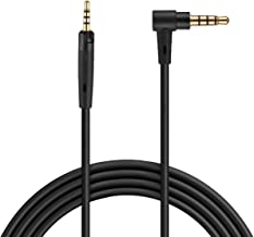 LASMEX Audio Cable Replacement for Bose QuietComfort QC35 QC35ii QC25 AE AE2 OE OE2 SoundLink SoundTrue Audio-Technica ATH AKG JBL Headphones 5FT 3.5mm to 2.5mm TRS Male to Male Aux Cord, 1 Pack
