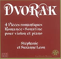 Dvorak: Integrale violon et piano Vol. 1