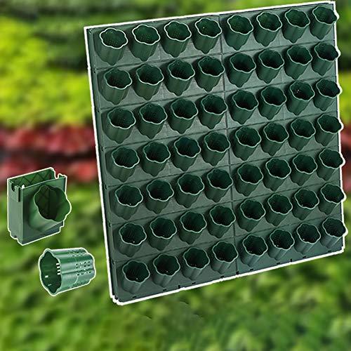 ZDYLM-Y Vertikale Pflanzenwand Blumentöpfe, Indoor Vertical Garden, Verwendung in Innenräumen, hält eine Vielzahl von Pflanzen