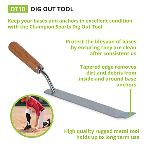 Champion Sports Baseball Dig Out Tool