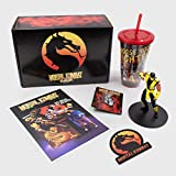 Culturefly Mortal Kombat Collectors Gift Box - 5 Exclusive Items - Officially Licensed