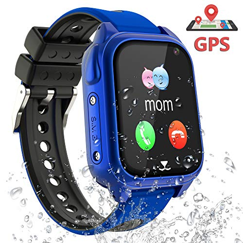 yuntab smartwatch GPS Smartwatch Orologio Bambino - GPS Tracker Smartwatch Bambini Regalo per Ragazzi Ragazze
