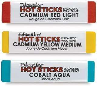 Hot Sticks Encaustic Wax Paints - Titanium White