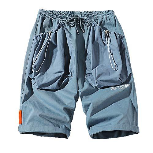 NOBRAND Verano Contraste Moda Deportes Hombres Casual Pantalones Cortos Versá