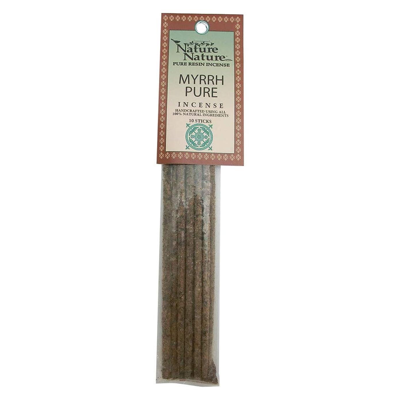 トリムリゾート未払いNature Nature Pure Resin Myrrh Pure インセンス