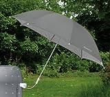 Stuhl-Sonnenschirm Farbe grau