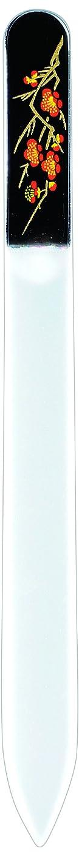 もの同種のレジデンス橋本漆芸 ブラジェク製高級爪ヤスリ 二月 梅 紙箱