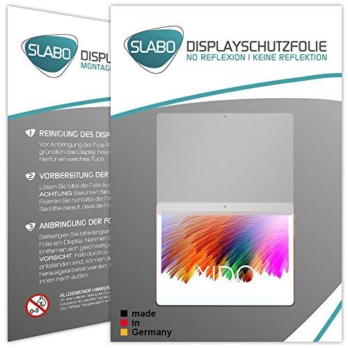 Slabo 2 x Bildschirmschutzfolie für XIDO X111 Bildschirmschutz Schutzfolie Folie No Reflexion   Keine Reflektion MATT