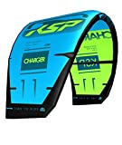 KSP Charger Red/Blue 9 m Bar 40 + New Fast Pump + 5 A Línea Kite Ala 2019 Open-C 5 líneas Freestyle Wakestyle Kitesurf