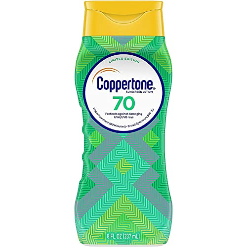 Coppertone UltraGuard Sunscreen Lotion SPF 70+ 8 oz