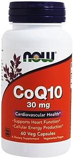 Now Foods 诺奥 Coq10 30Mg Now Foods 60 Caps