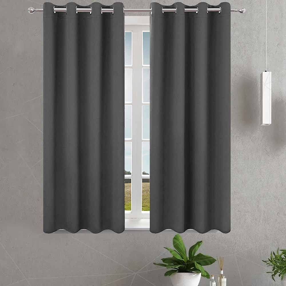 Blackout Curtains for Dallas Mall Tulsa Mall Bedroom 54 L 2 Length Planes Inch