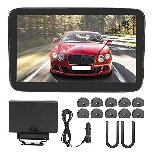 Reposacabezas de video, pantalla táctil de 11.6 pulgadas Coche HD MP5 Reposacabezas Monitor DVD Video Reproductor trasero para Android