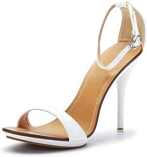 Best white strap heels Reviews