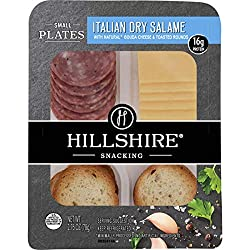 Hillshire Snacking Small Plates, Italian Dry Salami and Gouda Cheese, Single Serve