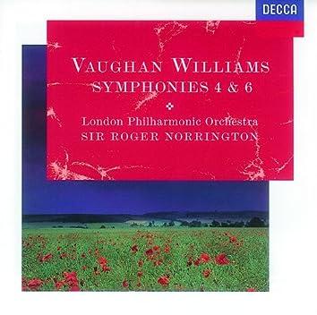 Vaughan Williams: Symphonies Nos.4 & 6