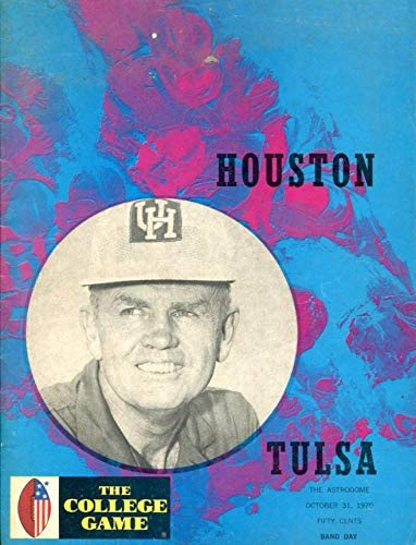 1970 Safety Ranking TOP6 and trust Houston Cougars v Tulsa Programs Program - College