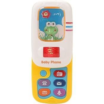 Hztyyier Bebé Smartphone con El plastico Juguete Musicales Bebé ...