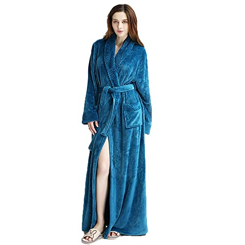 4c31f76f17 MAGILONA Women Men s Pregnant Loose Wears Hoodie Soft Velvet Bathrobe  Winter Sleepwear Thicken Nightgown Fleece Home