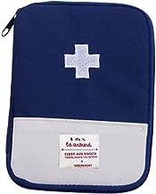 Fan-Ling New Medical Bag,Emergency Survival Drug Storage Kit,Outdoor Treatment Home Rescue,Creative Medicine Tablet Seal Organiser,Storage Holder Case for Medicine Drug Pill (M:15 X 10.5CM)