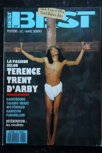 BEST 237 AVRIL 1988 TERENCE TRENT D\'ARBY Gainsbourg Motorhead Harrison Parabellum Talking Heads + POSTERS U2 Seberg