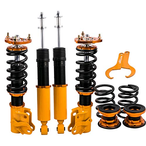 DNA MOTORING COIL-HC06-GD Suspension Coilover Sleeve Kit ,Gold for 06-11 Honda Civic