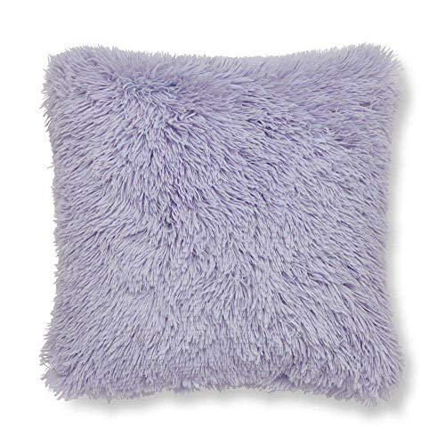 Catherine Lansfield Cuddly Cushion Cover 45x45cm Lilac