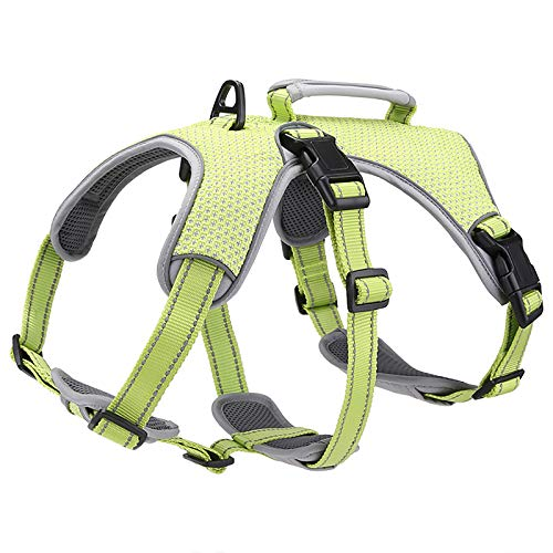 BELPRO Multi-Use Support Dog Harness, Escape Proof No Pull Reflective...