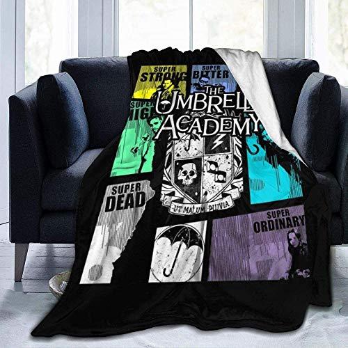 Zuyau Weiche und Bequeme 60 * 80 Zoll Schlafsofa Decke,Die Umbrella Academy GTA Fleece Flanell Throw Lightweight Ultra-Soft