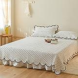 IKITOBI Sábanas bajeras bajeras para cama individual, doble, King Super King: Funda de almohada: 48 x 74 cm (2 piezas)