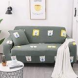 AYWJ Funda De Sofá Elástica con Diseño Elegante Universal Funda Sofá Antideslizante Protector Cubierta De Muebles (Color : Color 26, Size : AA 90-140cm)