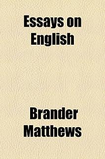 Essays on English