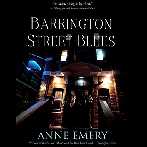 Barrington Street Blues: A Collins-Burke Mystery, Book 3 audiobook cover art