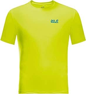 Jack Wolfskin Mens Tech T-Shirt - Flashing Green - XXL