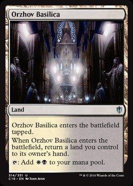 Magic The Gathering - Orzhov Basilica (314/351) - Commander 2016