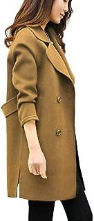 comprar comparacion Overdose Chaqueta De Invierno para Mujer Casual Outwear Parka Cardigan Slim Coat Overcoat Invierno Abrigo