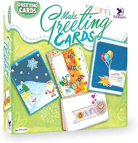 ToyKraft: Make Greeting Tulsa Mall Cards Kit Excellent Craft and Art for Kids