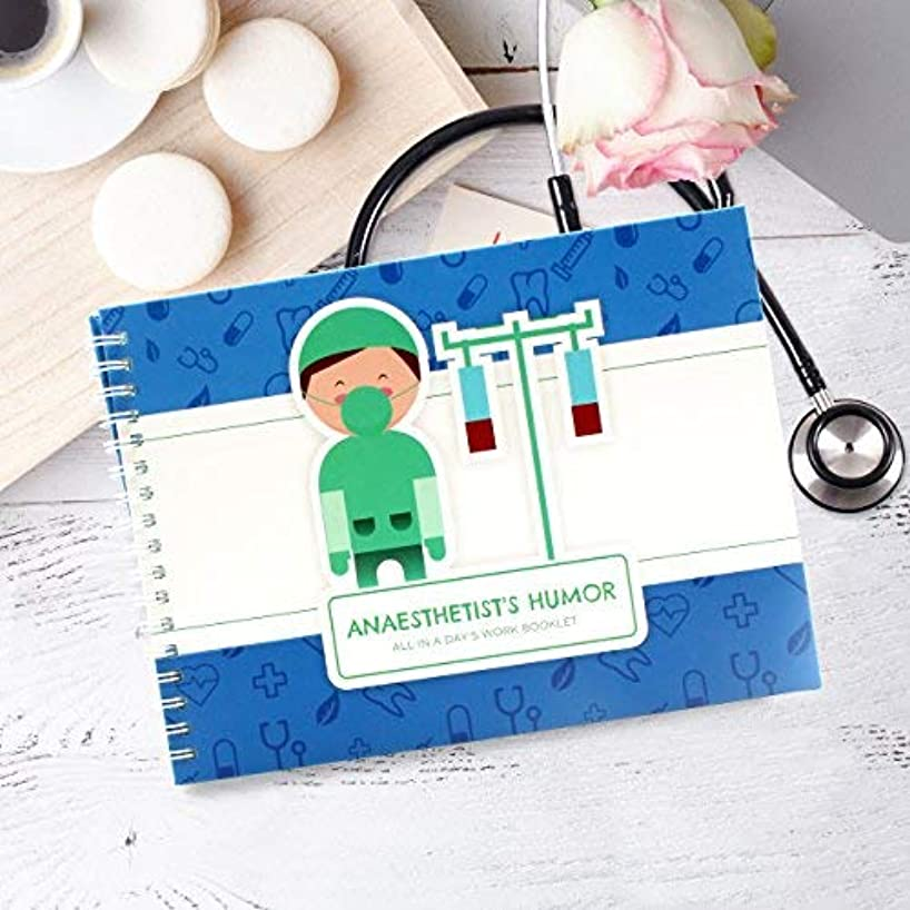 Perfect Anesthesiologist Gift - Booklet for Your Anesthetist Doctor - Great Idea to Say Thank You After Your Surgical Procedure - Includes Stickers, Jokes and Quotes - Perfect For a Nurse Anesthetist