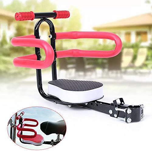 Asiento infantil para bicicleta, asiento delantero para bicicleta, accesorio de seguridad desmontable con mango, para bicicleta eléctrica