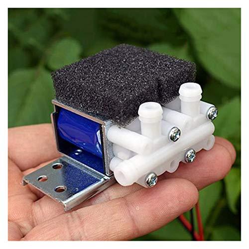 LXH-SH Das elektromagnetische Ventil DC12V 0.3A 2-Stellung 3-Wege-Mini-Wasseraufbereitungswasserventil normal geschlossen Magnetventile Kaffeemaschine Wasserspender Ventil Industriebedarf