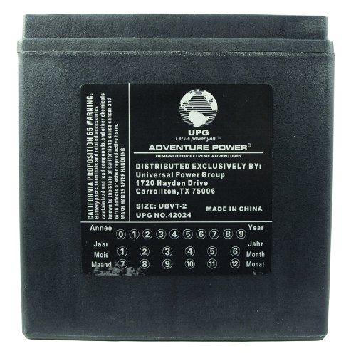 Buy UPG UBVT-2 Adventure Power V-Twin Battery - retfsga Mallory Ignition Wiring Diagram on