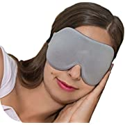 ComfyMed Sleep Mask CM-EM17 - Best Night and Travel 3D Eye Mask for Men and Women