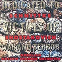 Dedicated to Victims of War and Terror: Chamber Symphony, Op. 110a / Concerto for Piano & Strings