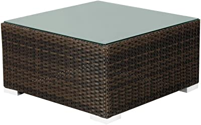 Source Furniture Square Manhattan Coffee Table, Espresso