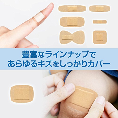 『BAND-AID(バンドエイド) 救急絆創膏 肌色タイプ ジャンボ[Sサイズ] 10枚』の3枚目の画像