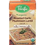 Pacific Foods Soup Ready To Eat Roasted Garlic Mushroom Lent, 17 oz