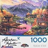 Cra-Z-Art Abraham Hunter Mountain Retreat Jigsaw Puzzle - 1000 Pieces