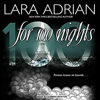 For 100 Nights audiobook cover art
